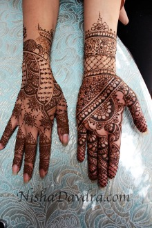 Mehndi design by Nisha 04