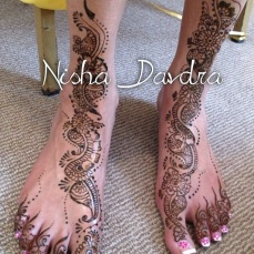 Mehndi design by Nisha 05