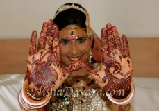 Mehndi design by Nisha 07