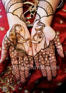 Mehndi design by Nisha 08