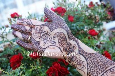 Mehndi design by Nisha 09