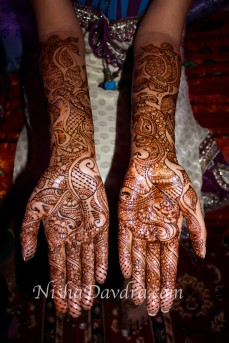 Mehndi design by Nisha 10