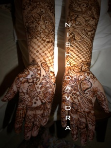 Mehndi design by Nisha 11