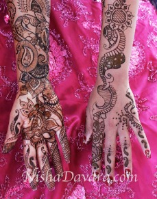 Mehndi design by Nisha 15