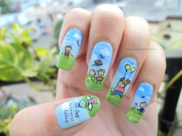 nail art designs by Anubhooti Khanna 09