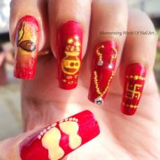 nail art designs by Anubhooti Khanna 11