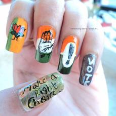 nail art designs by Anubhooti Khanna 15