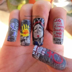 nail art designs by Anubhooti Khanna 26