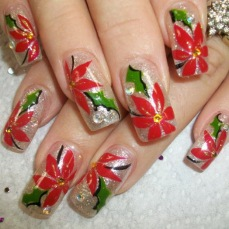 Nail art designs for christmas 01