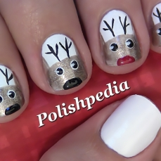 Nail art designs for christmas 02