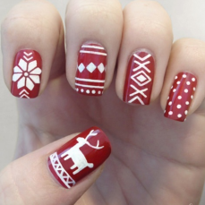 Nail art designs for christmas 03