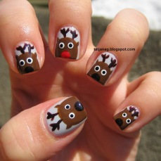 Nail art designs for christmas 04