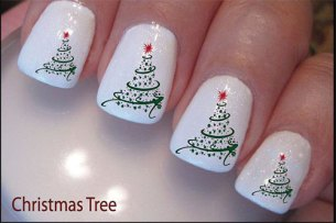 Nail art designs for christmas 05