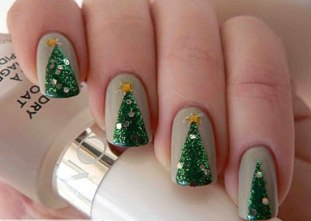 Nail art designs for christmas 06