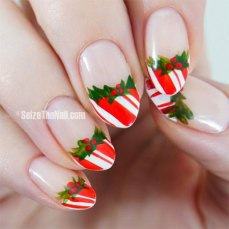Nail art designs for christmas 12
