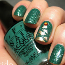 Nail art designs for christmas 13