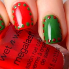 Nail art designs for christmas 14