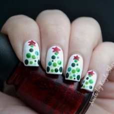 Nail art designs for christmas 16