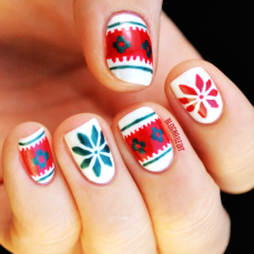 Nail art designs for christmas 18