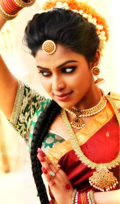 Hairstyles for South Indian Bride 01