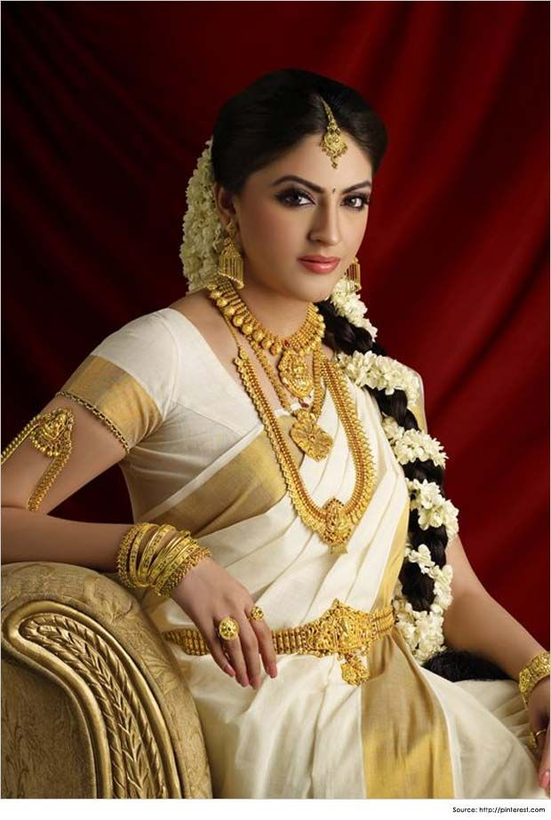 Hairstyles for South Indian Bride 03