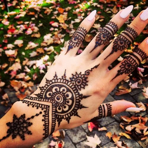 Mehndi Hand With Eye : Gorgeous mehndi designs for hands indian makeup and