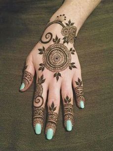 mehndi designs for hands 16
