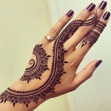 mehndi designs for hands 17