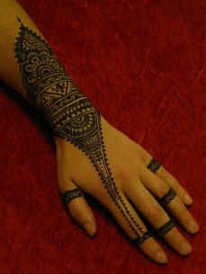 mehndi designs for hands 306