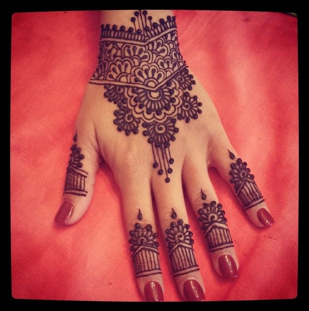 Mehndi Fingers Review : Mehndi designs for hands indian makeup and beauty