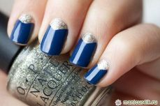 Winter inspired nail art designs 01