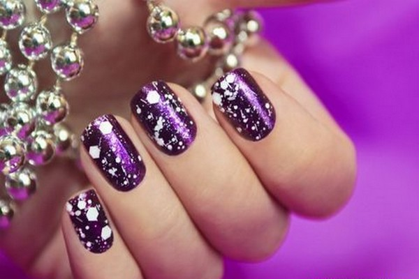 15 Winter inspired cute nail art designs   Indian Makeup and Beauty ...