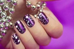 Winter inspired nail art designs 03