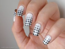 Winter inspired nail art designs 15