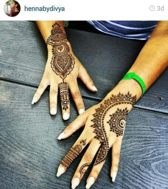 Arabic mehndi designs for bride relatives 03