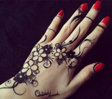 Arabic mehndi designs for bride relatives 08