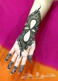 Arabic mehndi designs for bride relatives 10