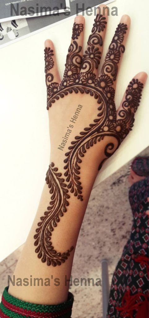 Arabic mehndi designs for bride relatives 11