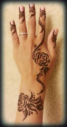 Arabic mehndi designs for bride relatives 15