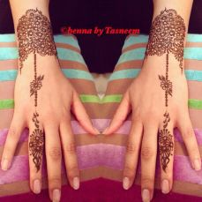Arabic mehndi designs for bride relatives 17
