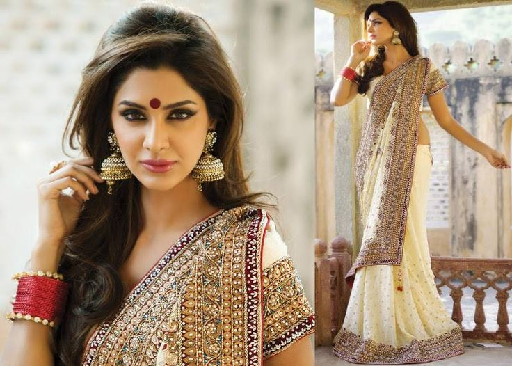 15 Gorgeous Designer Sarees Suitable For A Bengali Bride | Indian Makeup And Beauty Blog ...