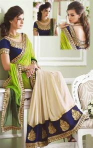 Designer sarees to wear on weddings 03