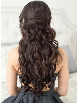 Easy hairstyles to do on Valentines day 01