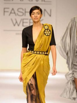 How to drape a Saree in different ways 02
