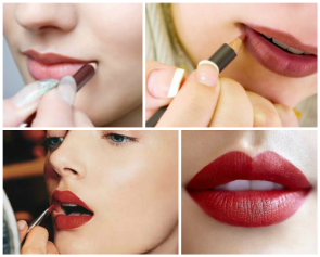How to make thin lips look plumper 02