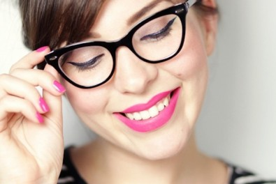 Makeup Guide for Women with Glasses 01