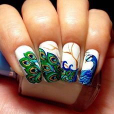 Nail art designs inspired by Indian motifs 10