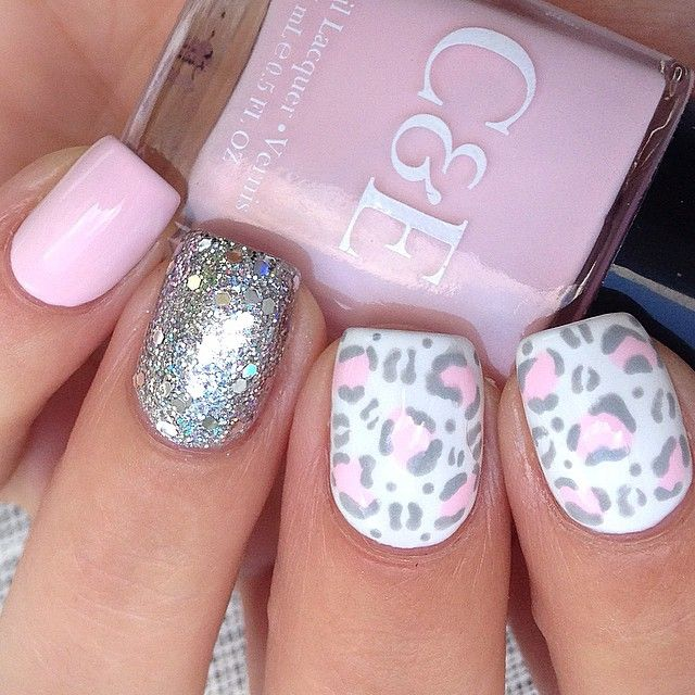 Get the Leopard Print Nail Art from Statement: Made