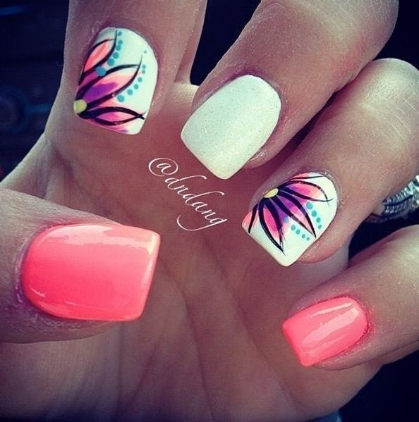 20 awesome spring summer nail art design ideas indian makeup and beauty blog beauty tips