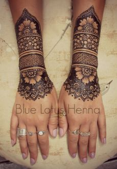 Arabic mehndi designs 14